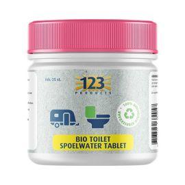 123 Bio Toilet Spoelwater Tablet