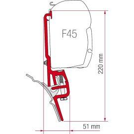 Fiamma Kit F45 Brandrup VW T4