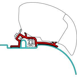 Fiamma Kit Ducato, Jumper, Boxer High Roof