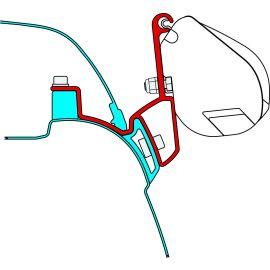 Fiamma Kit VW T5/6 California