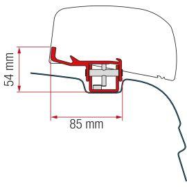 Fiamma adapter VW T5/6 F40 VAN