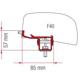 Fiamma adapter Nissan NV350 F40 VAN