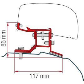 Fiamma adapter Ford Custom L1 (LHD) F40 VAN