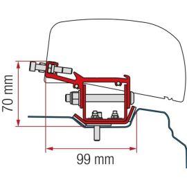 Fiamma adapter Renault Trafic L2 (LHD + RHD) F40 VAN