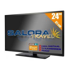 Salora 24 inch Travel TV 12/230 V