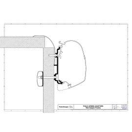 Thule Frankia - Adapter Serie 5