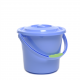 Travellife toiletemmer met deksel blauw 5L